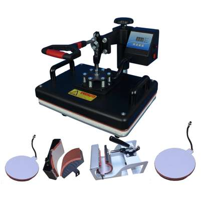 combo 5 in 1 Heat press machine image 5