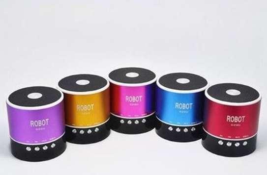 Robot Bluetooth wireless speaker