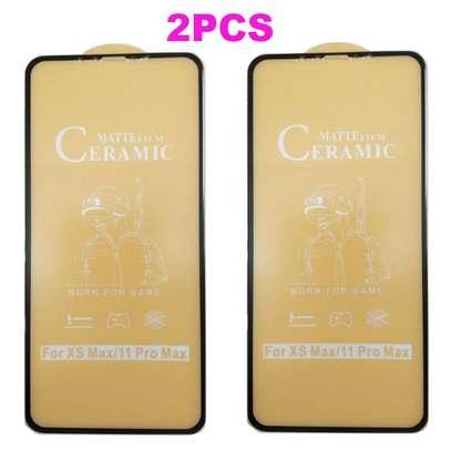 Ceramic 5D Full Glue Glass Protector Flexible Anti-Break,Anti-Fingerprint for iPhone 11 Pro Max image 4