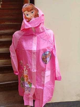 Girls Cartoon Raincoat image 2
