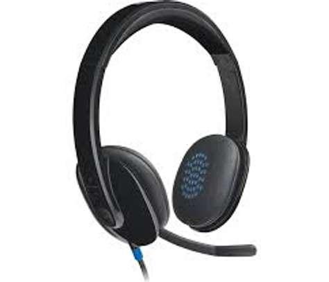 Logitech H540 stereo Headset image 2
