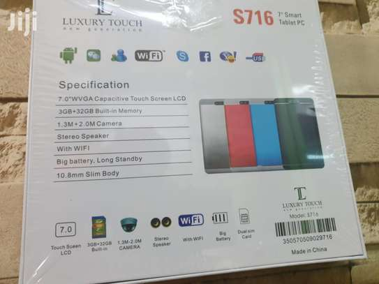 Luxury Touch S716 Kids Tablet WITH SIMCARD SLOTS. image 2