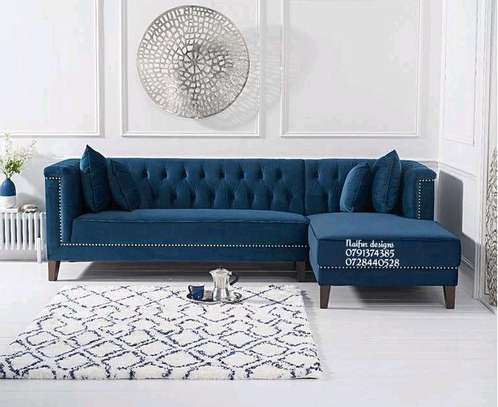 Blue chesterfield sofas for sale in Nairobi Kenya/five seater sofas/sofas and couches for sale in Nairobi Kenya image 1