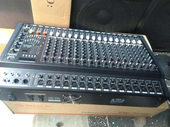Yamaha powered mixer