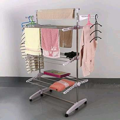 Multipurpose clothes rack
