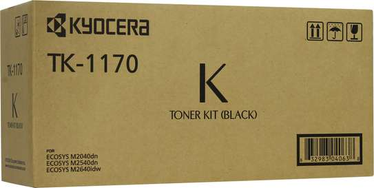 TK 1170 toner for use in Kyocera M2040, M2640dn image 1