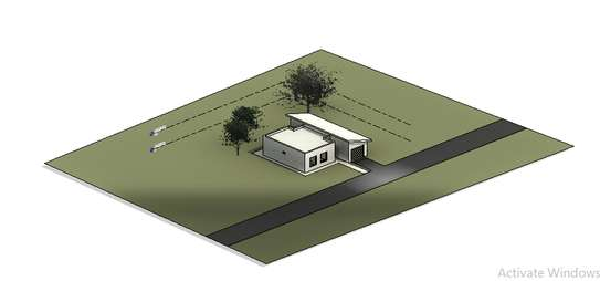 Residential house plan