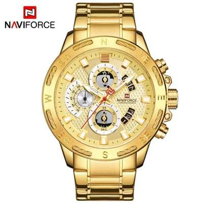 Naviforce water resistant digital analog watch image 2
