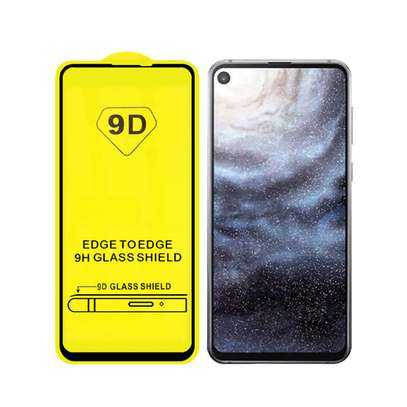 5D HD Clear Tempered Glass Front Screen Protector for Samsung A60 image 4