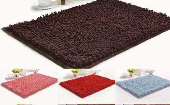 rugs doormat chocolate brown image 1