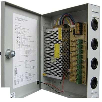 CCTV Power Supply Unit 12V 30 Amps- Open image 1