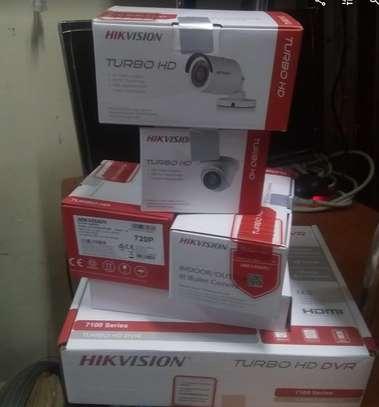 Three 3 CCTV camera 720p  Complete cameras sale image 1
