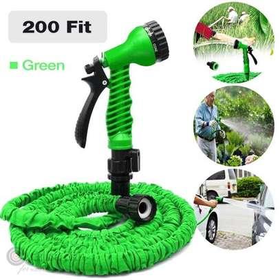 Magic 200FT Garden Hose Expandable Flexible Plastic Hoses Water Pipe image 1
