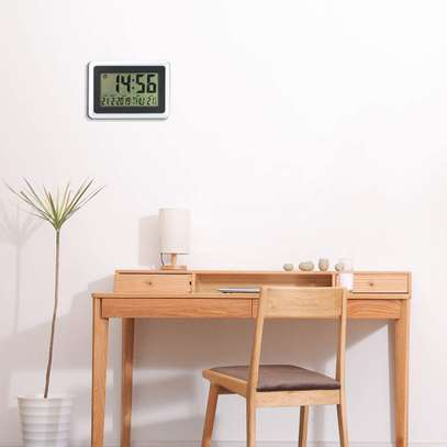 Digital LED Wall Clock With Alarm,Date,Temperature image 3