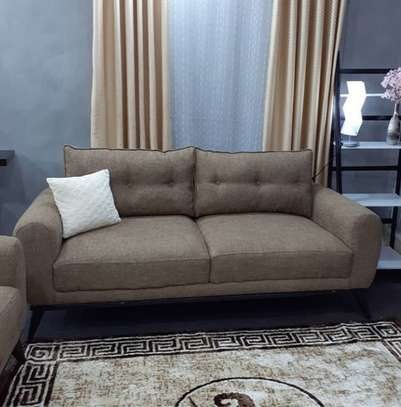 A 5 Seater Pillowed Sofa image 1
