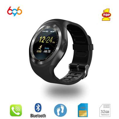 Y1 SMART WATCH WITH MICRO SIM CARD image 1