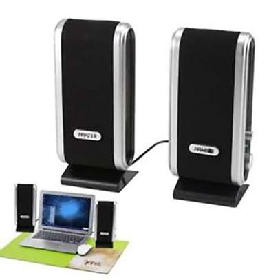 Multimedia speakers 2.0 USB - Black. image 1