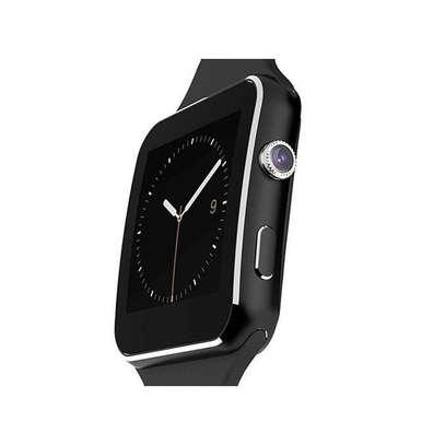 X6-Smart Watch Phone MTK6260 Camera-water resistant-Black image 2