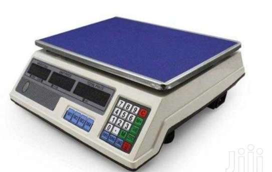 Poleless digital weighing scale