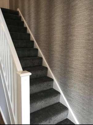 Charcoal grey wall to wall carpets image 1