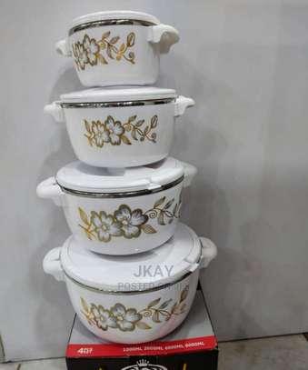 4 Pc Casserole/Hot Pots Set image 2