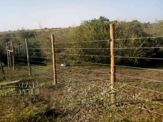 Electric Fence Installation image 2