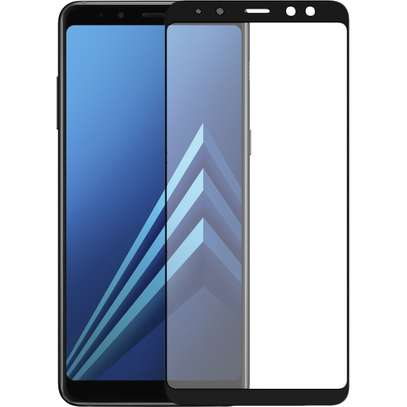5D HD Clear Tempered Glass Front Screen Protector for Samsung A8 2018 and A8 Plus 2018 image 5