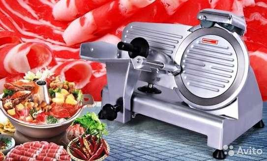 mini domestic semi-automatic 250es-10 meat slicer image 3
