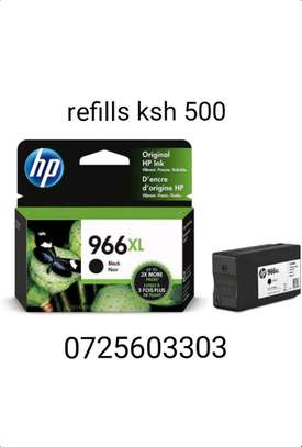 966XL High Yield Black Ink cartridge, 3JA04AN#140 image 1
