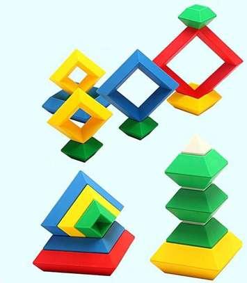 Kids/Children Deluxe Set 30 Pc Building Block Set Educational Toy image 6