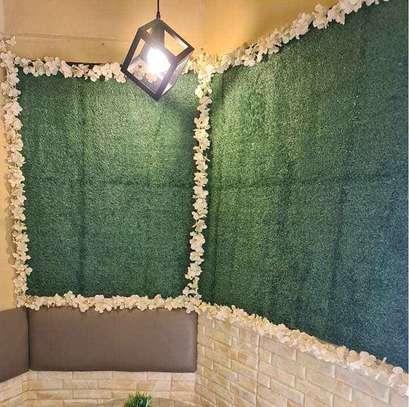 artificial durable green grass carpet image 1