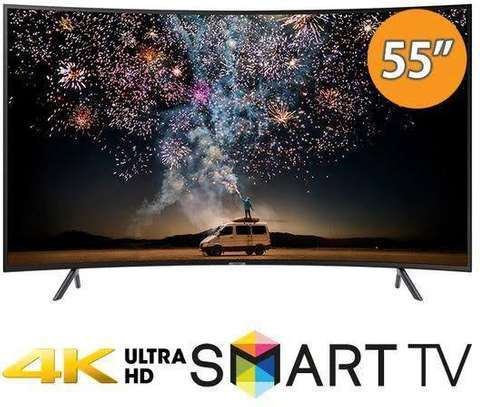Samsung 55 Inches Smart Curved 4K image 1