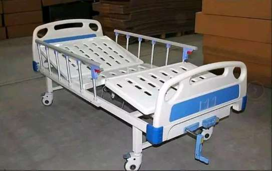 Two crank hospital bed image 3
