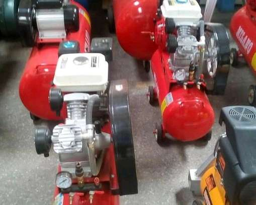 Electric and petrol air compressor s