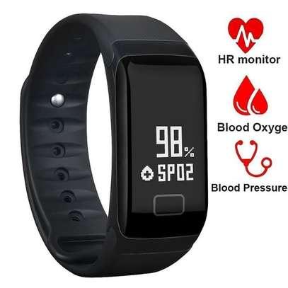 F1 Sports Heart Rate Blood Pressure Smart Bracelet Watch image 3