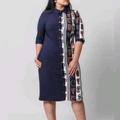 Bi Pattern Dress image 1