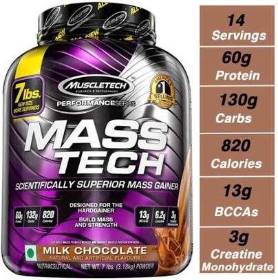 Mass tech, muscle mass, muscle gainers. image 1