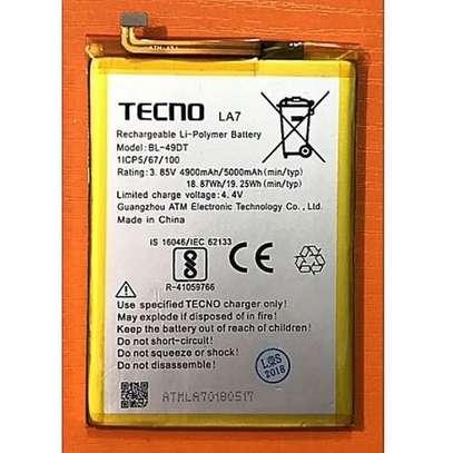 Tecno Pouvior Battery image 1