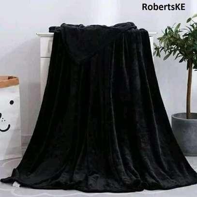 black fleece blankets image 1
