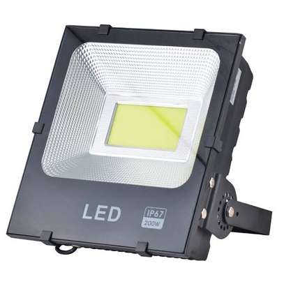 Solar Flood LED Light, 30W, Outdoor Security Lighting, Remote Control image 2