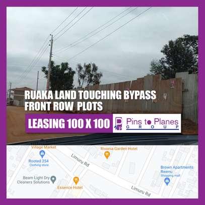 RUAKA LAND TOUCHING BYPASS FRONT ROW PLOTS image 1