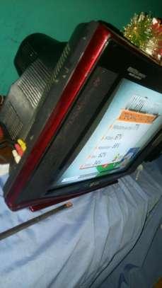 television analog flat screen