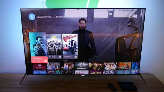 50 inch Hisense Android smart UHD 4K Latest image 1