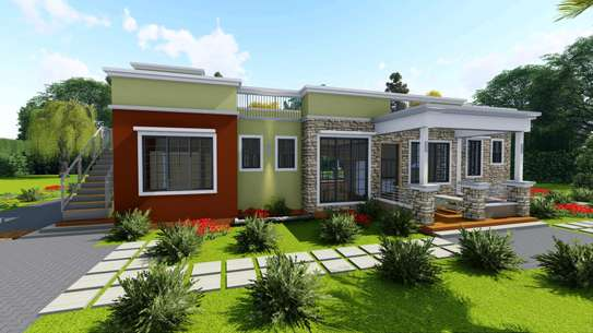 4 bedroom flat roof. With resting place image 3