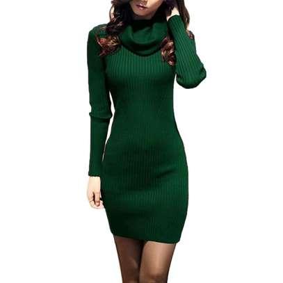 Knit Sweater Dress image 1