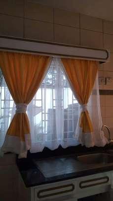 Beautiful kitchen curtains image 13