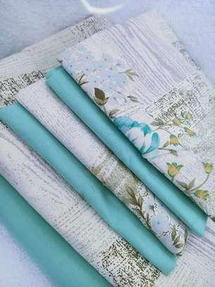 bed sheets lime blue prints image 1