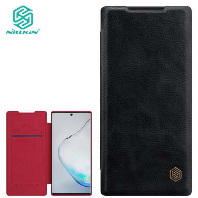 Nillkin Qin Series Leather Luxury Wallet Pouch For Samsung Note 10/Note 10 Pro image 2