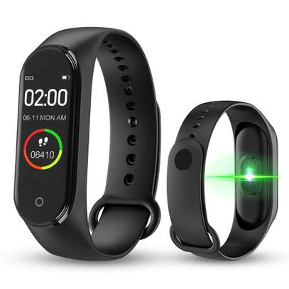 Smart Fitness Watch Bracelet M4 Tracker Band Activity Heart Rate Monitor image 3