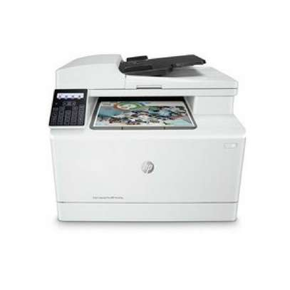 HP Color Laser Jet Pro MFP M181fw Multi function printer+Free Printer Cable image 3